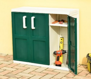L'armoire de jardin en PVC, léger et solide