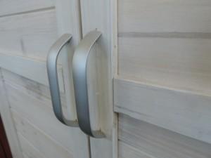 Solidité et légèreté, l'armoire en PVC