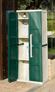 Armoire haute extérieure 2 portes