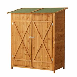 Armoire de jardin bois Homcom